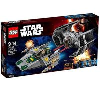 LEGO Star Wars - Vaders TIE Advanced vs. A-Wing Starfighter (75150)