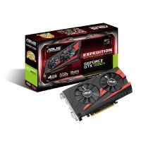 Asus GeForce GTX 1050Ti Expedition 4GB GDDR5 DVI/HDMI/DP Grafikkarte