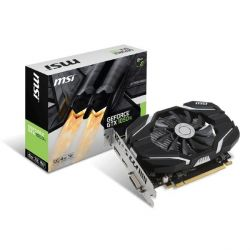 MSI GeForce GTX 1050Ti 4G OC 4GB GDDR5 DVI/HDMI/DP Grafikkarte Bild0