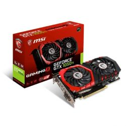 MSI GeForce GTX 1050Ti Gaming X 4G TwinFrozr GDDR5 DVI/HDMI/DP Grafikkarte Bild0
