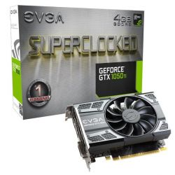 EVGA GeForce GTX 1050Ti SC Gaming 4GB GDDR5 DVI/HDMI/DP Grafikkarte Bild0