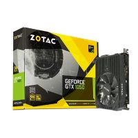 Zotac GeForce GTX 1050 ITX Edition 2GB GDDR5 Grafikkarte DVI/HDMI/DP