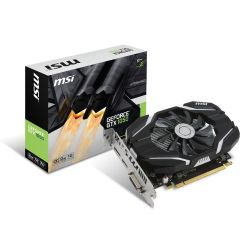 MSI GeForce GTX 1050 2G OC 2GB GDDR5 DVI/HDMI/DP Grafikkarte Bild0