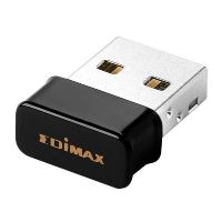 Edimax Pro N150 1T1R kabelloser 150MBits USB2.0 WLAN Bluetooth 4.0 Adapter Nano