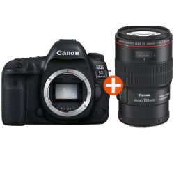 Canon EOS 5D Mark IV Kit EF 100mm f/2.8L IS USM Spiegelreflexkamera Bild0