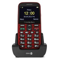 Doro Primo 366 Single-SIM rot 0,3MP GSM Mobiltelefon