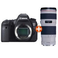Canon EOS 6D Kit EF 70-200mm f/4.0L IS USM Spiegelreflexkamera *Aktion*