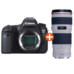 Canon EOS 6D Kit EF 70-200mm f/4.0L IS USM Spiegelreflexkamera *Aktion* Bild0