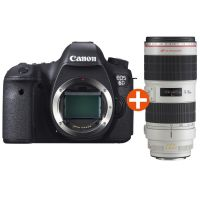 Canon EOS 6D Kit EF 70-200mm f/2.8L IS II USM Spiegelreflexkamera *Aktion*