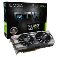 EVGA GeForce GTX 1070 FTW Gaming ACX 3.0 8GB GDDR5 DVI/HDMI/3xDP Grafikkarte