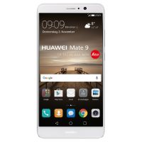 HUAWEI Mate 9 Dual-SIM silver Android 7.0 Smartphone mit Leica Dual-Kamera