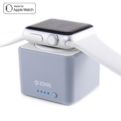 Zens Apple Watch Power Bank 1300mAh grau Bild0