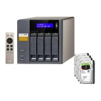 QNAP TS-453A-8G NAS System 4-Bay 32TB inkl. 4x 8TB Seagate ST8000VN0022