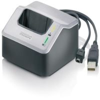 Philips LFH 9120 Quick Charge Docking Station USB2.0, Inkl. 2x LFH 9154 Akku