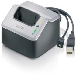 Philips LFH 9120 Quick Charge Docking Station USB2.0, Inkl. 2x LFH 9154 Akku Bild0