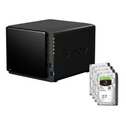Synology DS416 NAS System 4-Bay 32TB inkl. 4x 8TB Seagate ST8000VN0022 Bild0