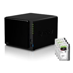 Synology DS916+(8G) NAS System 4-Bay 24TB inkl. 4x 6TB Seagate ST6000VN0041 Bild0