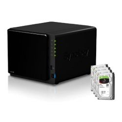 Synology DS916+(2G) NAS System 4-Bay 32TB inkl. 4x 8TB Seagate ST8000VN0022 Bild0