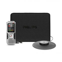 Philips Voice Tracer DVT 41000 Stereo Diktiergerät 4GB + Meeting-Set Bild0