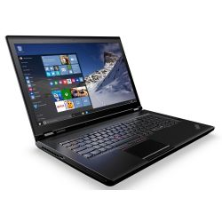 Lenovo ThinkPad P70 Notebook Xeon 1505 v5 UHD SSD M400M Windows 10 Pro Bild0