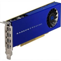 AMD Radeon Pro WX4100 4GB GDDR5 PCIe Workstation Grafikkarte 4x Mini DP Bild0