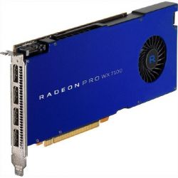 AMD Radeon Pro WX7100 8GB GDDR5 PCIe Workstation Grafikkarte 4x DP Bild0