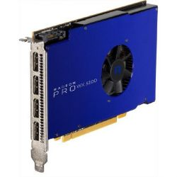 AMD Radeon Pro WX5100 8GB GDDR5 PCIe Workstation Grafikkarte 4x DP Bild0