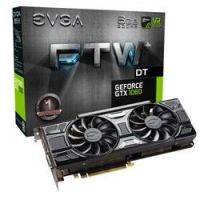 EVGA GeForce GTX 1060 FTW+ DT Gaming ACX 3.0 6GB GDDR5 DVI/HDMI/3xDP Grafikkarte