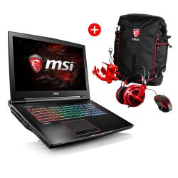 MSI GT73VR-6RE4K32SR451 Gaming Notebook i7-6820HK SSD GTX1070 Windows 10 +BUNDLE Bild0
