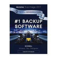 Acronis True Image 2017 2 PC´s - 1+1 Aktion #World BackUp Day 10€ sparen