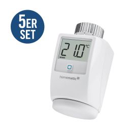 Homematic IP 5er Set Heizkörperthermostat HMIP-eTRV Bild0