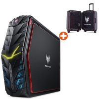 Acer Predator G1-710 Gaming PC i5-6400 12GB 1TB 128GB SSD GTX1060 Win10 + Koffer