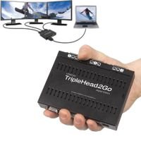 Matrox TripleHead 2 Go Digital Edition 3fach DVI/VGA-Splitter Multi-Display
