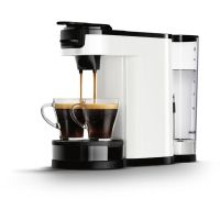 Philips HD7892/00 Senseo Switch 2-in-1 Kaffeemaschine für Filter und Pads, weiß
