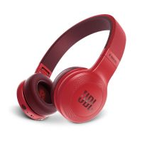 JBL E45BT Rot - On Ear - Bluetooth Kopfhörer mit Mikrofon