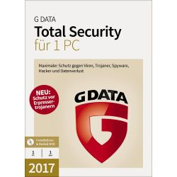 G DATA Total Security 1 User 1 Jahr Lizenz - ESD Bild0