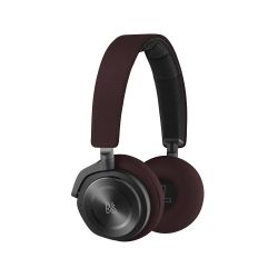 .B&O PLAY BeoPlay H8 On-Ear Bluetooth-Kopfhörer -Noise-Cancellation Deep Red Bild0