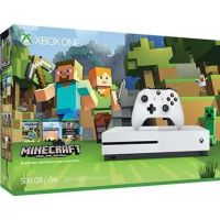 Microsoft Xbox One S Konsole 500GB Minecraft Bundle