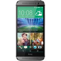.HTC One M8 gunmetal gray Android Smartphone