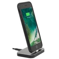 StilGut Airdock iPhone Dockingstation, schwarz
