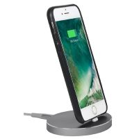 StilGut Airdock Oval iPhone Dockingstation, spacegrey