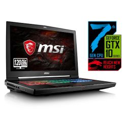 MSI GT73VR 7RF-296 Gaming Notebook i7-7820HK SSD GTX1080 Full HD Windows 10 Bild0
