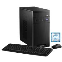 Hyrican CyberGamer black 5443 Gaming PC i7-7700 16GB 1TB 250GB SSD GTX1070 Win10