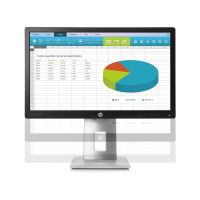 "HP EliteDisplay E222 54,6cm (21,5"") 16:9 TFT VGA/HDMI/DP 7ms 5Mio:1 LED-IPS"