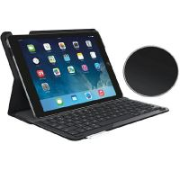 Logitech Type+ Case und Tastatur für iPad Air Carbon Black DE QWERTZ