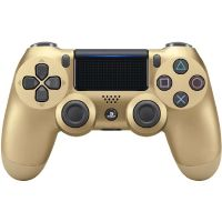 Sony Dualshock 4 (2016) Wireless Controller gold für PS4
