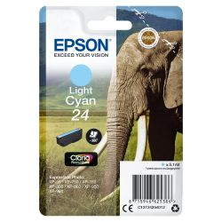 Epson C13T24254012 Druckerpatrone 24 Claria Photo HD light Cyan  Bild0