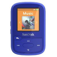 SanDisk Clip Sport Plus MP3 Player 16GB blau