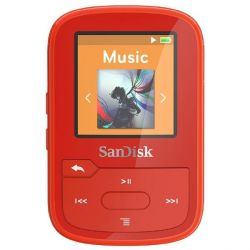 SanDisk Clip Sport Plus MP3 Player 16GB rot Bild0