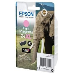 Epson C13T24364012 Druckerpatrone 24XL Claria Photo HD light magenta Bild0